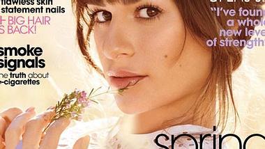 """Lea Michele: """"Unbeschreiblich glücklich"""" mit Cory Monteith. - Foto: Teen Vogue"""