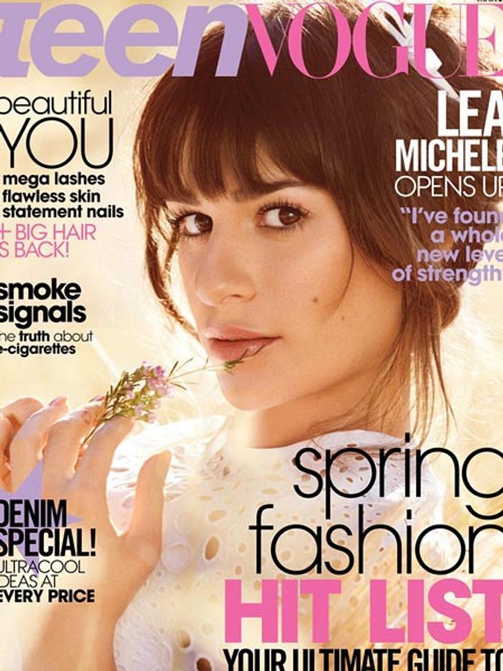 """Lea Michele: """"Unbeschreiblich glücklich"""" mit Cory Monteith."""