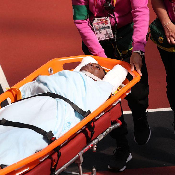 Horrorsturz bei WM: Sprinterin knallt mit Kopf auf Hürde