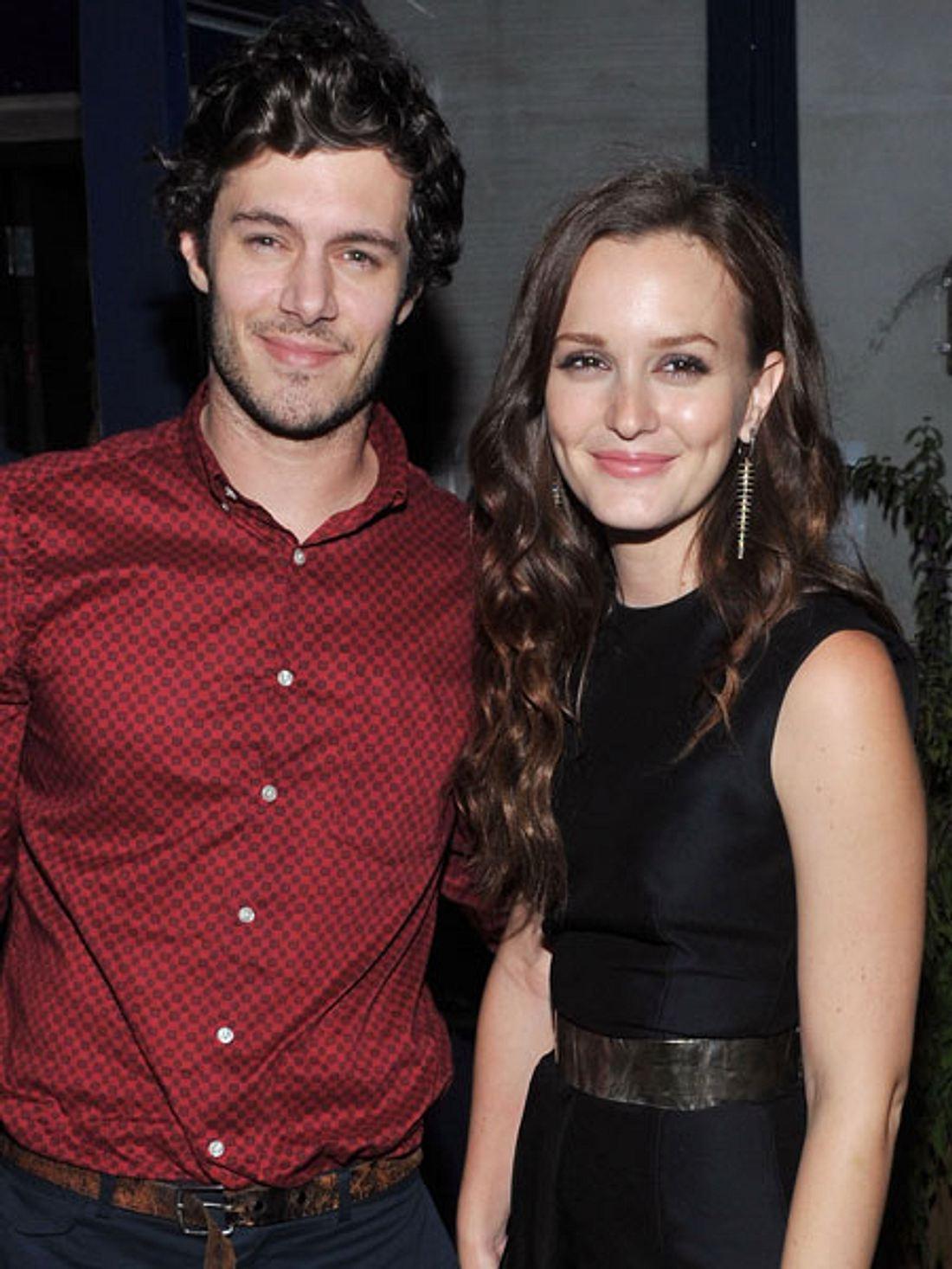 Süßes Paar: Adam Brody und Leighton Meester haben geheiratet.