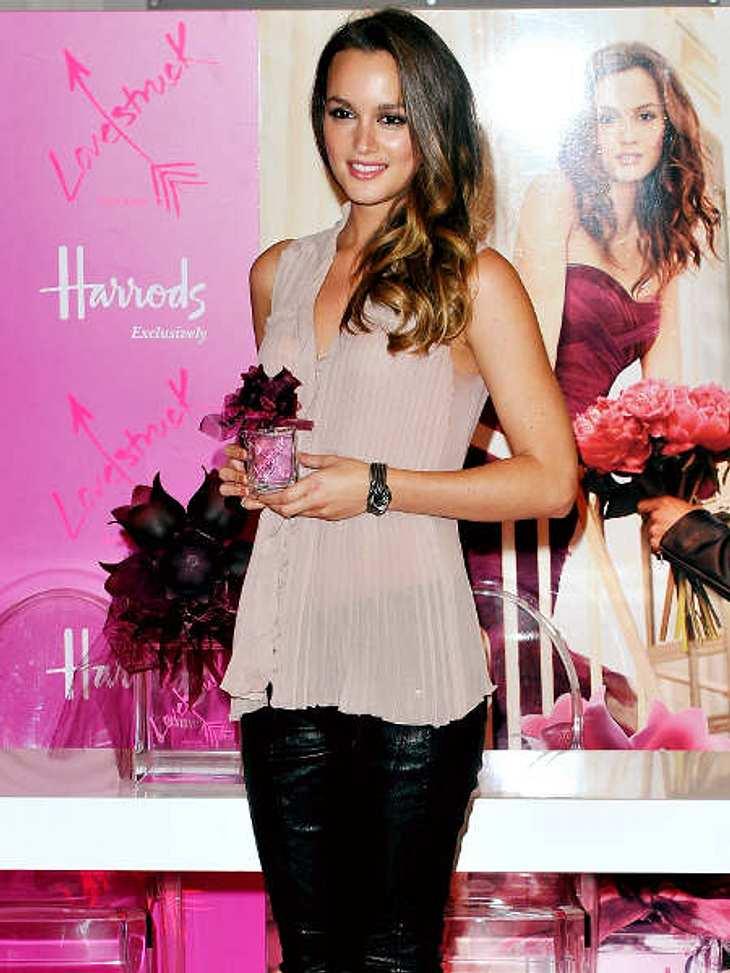 """Der Duft der Stars""""Gossip Girl""""-Star Leighton Meester ist das Gesicht des Vera-Wang-Dufts """"Lovestruck"""". Für diesen Werbedeal soll Leighton Meester stolze drei Millionen Dollar verdient haben."""