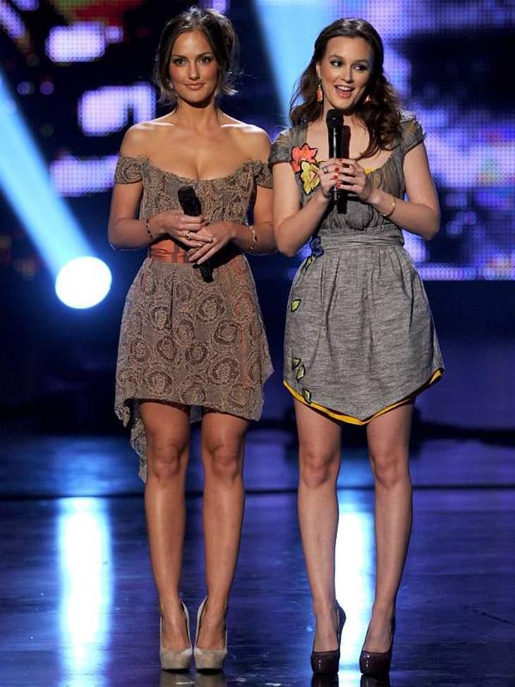 People's Choice Awards 2011Auch  Leighton Meester und Minka Kelly präsentierten einen Award.People's Choice Awards 2011