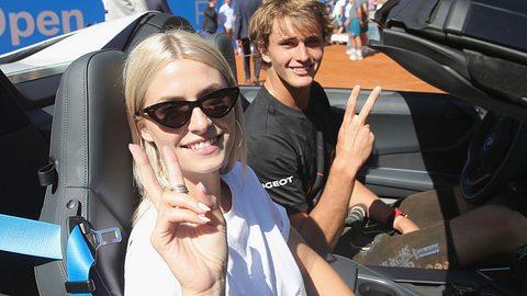 Lena Gercke und Alexander Zverev - Foto: Getty Images