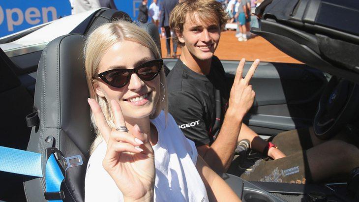 Lena Gercke und Alexander Zverev