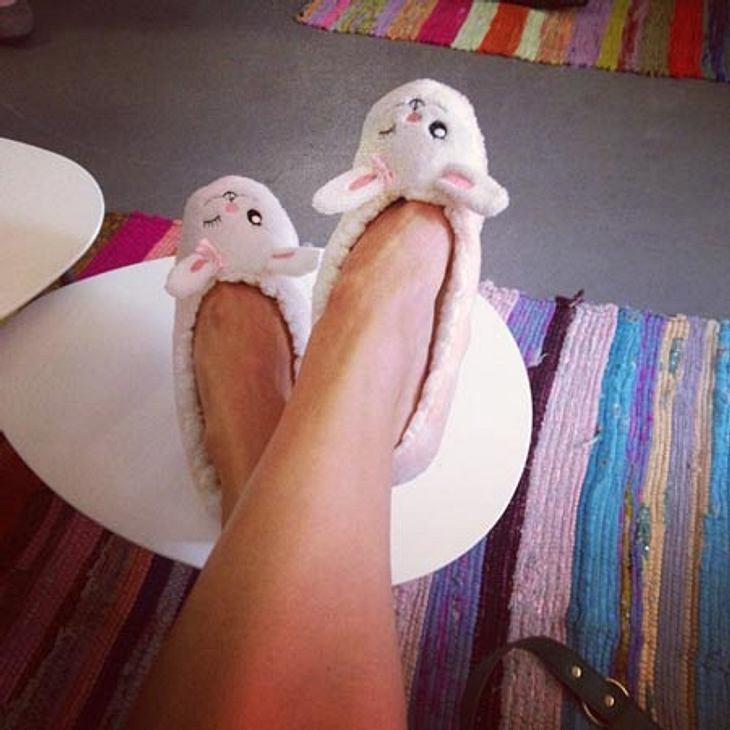 Lena Gercke zeigt ihre Beine