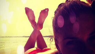 Lena Gercke zeigt ihren Allerwertesten - Foto: instagram.com/lenagercke