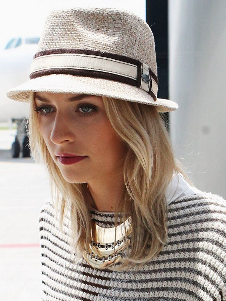 Lena Gercke hatte ihren erste Auftritt in einer Castingshow-Jury