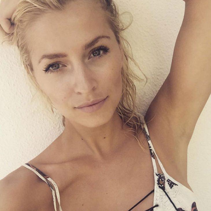 Lena Gercke teilt das erste Liebesselfie mit Kilian Müller-Wohlfahrt