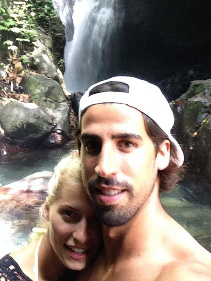 Sami Khedira postete ein süßes Pärchen-Selfie