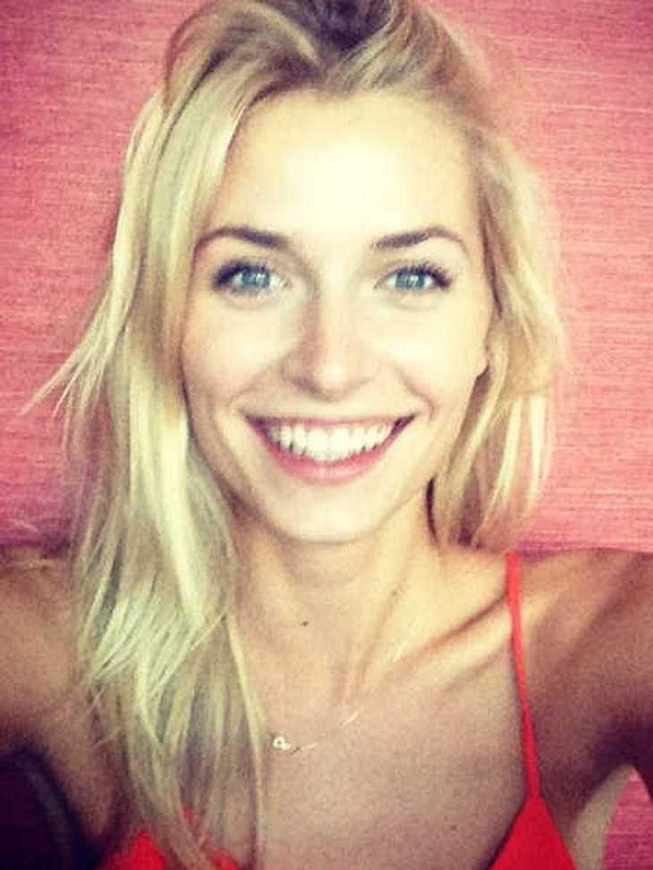 So sieht Lena Gercke aus, wenn sie ins Bett geht.