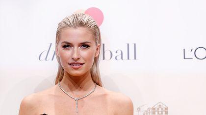 Lena Gercke ist meist geschminkt - Foto: Getty Images