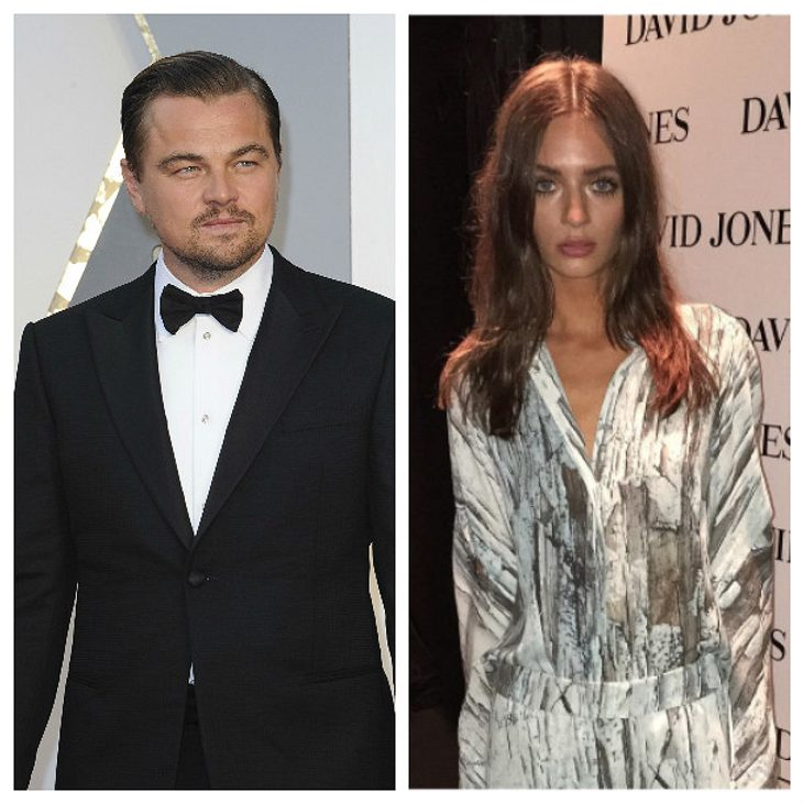 Leonardo DiCaprio steht auf Victoria Lee Robinson