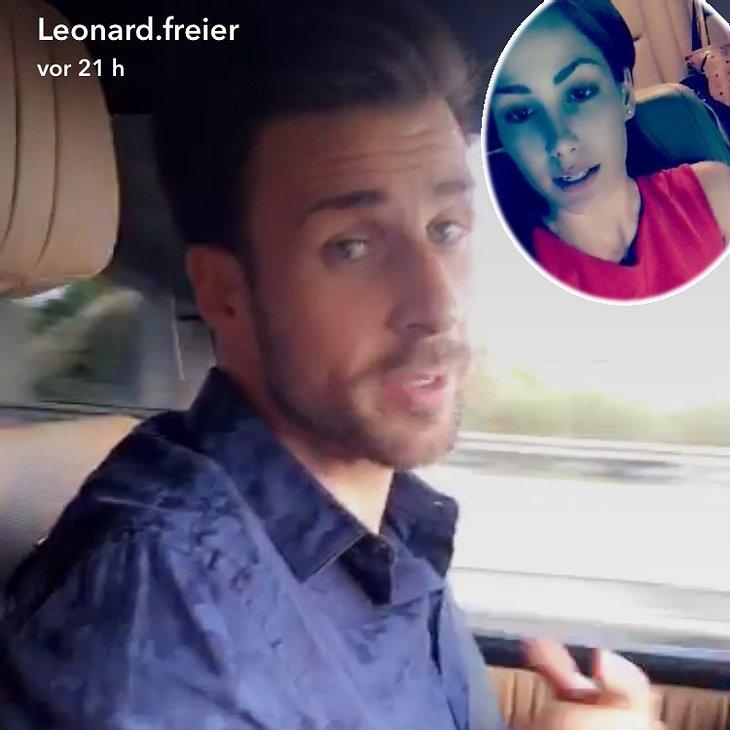 Was läuft tatsächlich zwischen Angelina Heger und Leonard Freier?