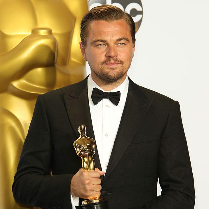 Leonardo DiCaprio vergisst beinahe seinen Oscar