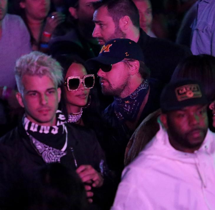 Liebes-Geflüster? Leonardo DiCaprio & Rihanna zusammen bei Coachella