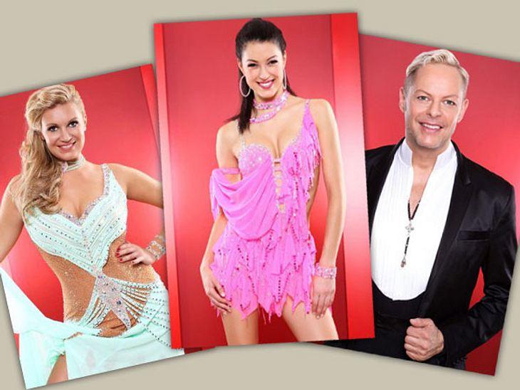 """""""Let's Dance"""" - mit dabei: Magdalena, Rebecca und Uwe"""
