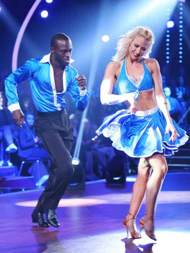 Hans Sarpei zeigte sein Tanz-Talent.