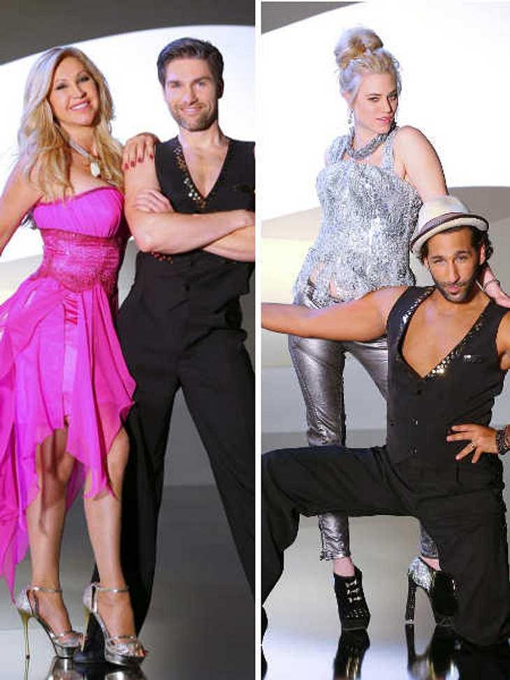 Auf dem Tanzparkett sind Carmen Geiss und Larissa Marolt Konkurrentinnen.