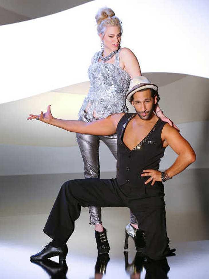 Larissa Marolt und ihr Tanzpartner Massimo Sinato.