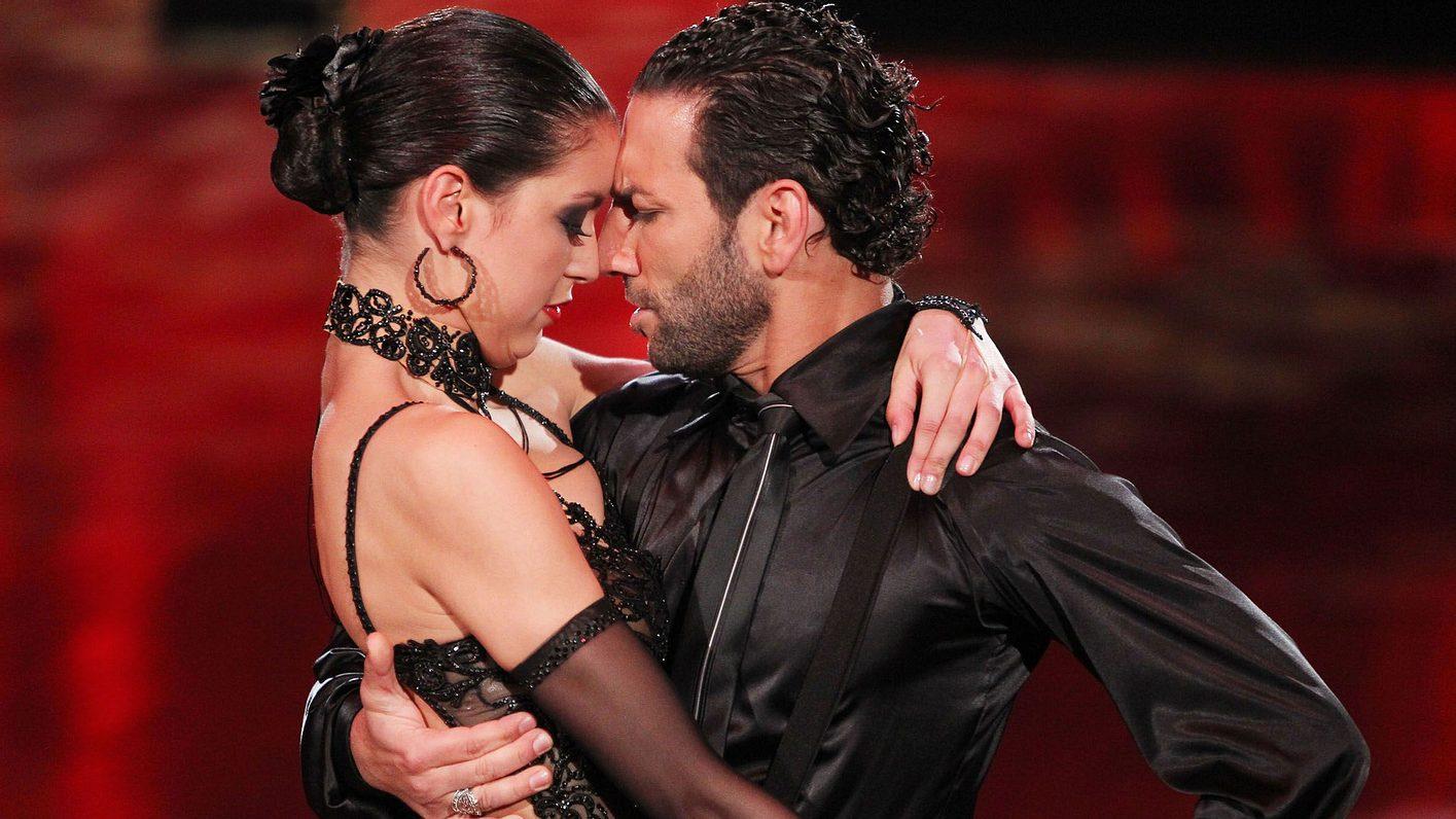 Let's Dance-Paar Rebecca Mir und Massimo Sinató