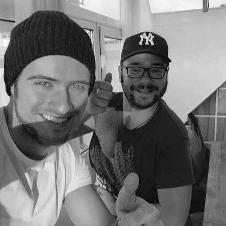 Let's Dance: Jörn Schlönvoigt drückt GZSZ-Kollegen Thomas Drechsel die Daumen