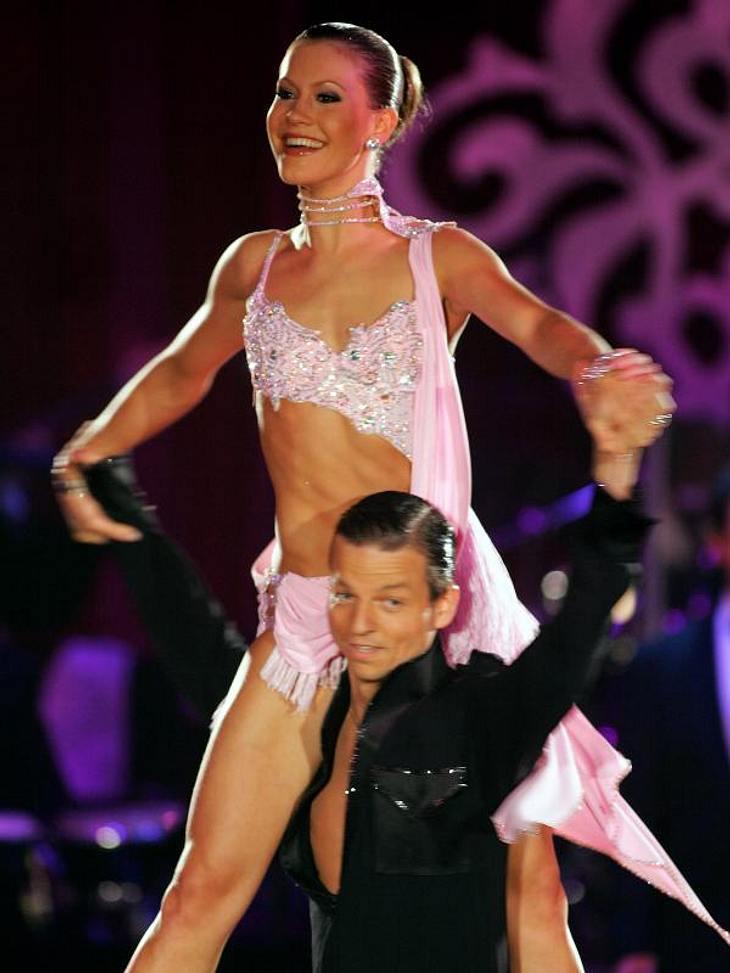 """""""Let's Dance"""" macht schlankDoch keiner kommt an das Ergebnis von Wolke Hegenbarth ran. Sie gewann 2006 die Tanzshow """"Let's Dance"""" und ging mit einem Sixpack und allerhand anderer definierter Muskeln nach Hause, die sie v"""