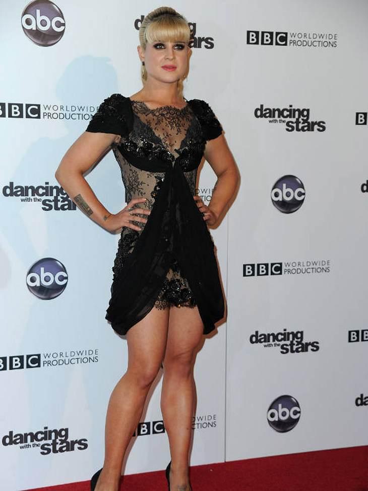 """""""Let's Dance"""" macht schlank Danach arbeitete  Kelly Osbourne weiter an ihrem Körper. Knapp 30 Kilo nahm sie ab."""