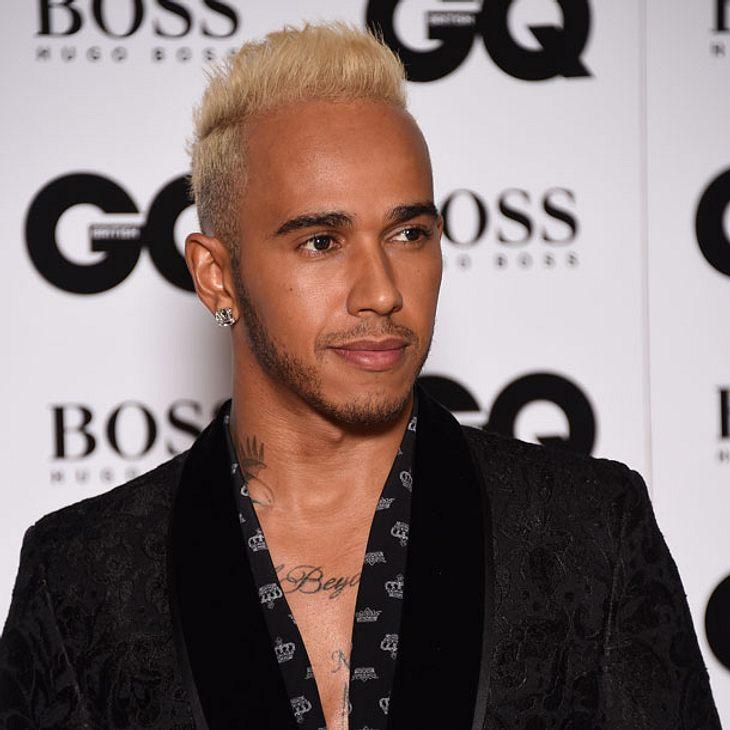 Lewis Hamilton blond