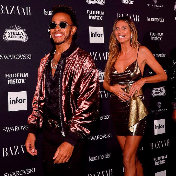 Heidi Klum: Steht sie auf Lewis Hamilton?