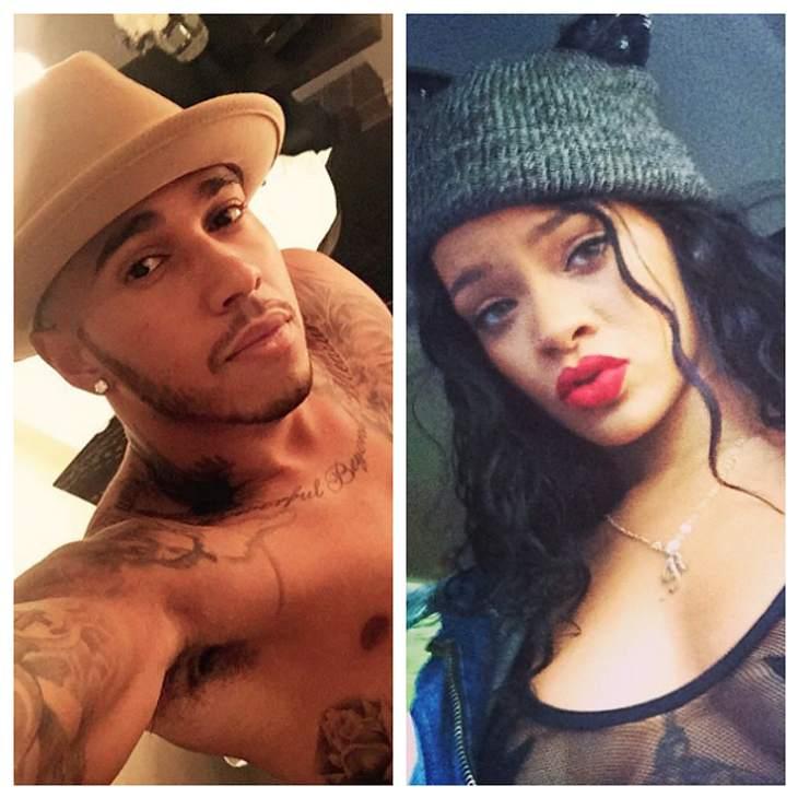 Lewis Hamilton und Rihanna