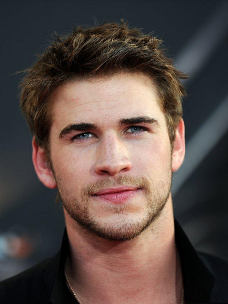 """""""The Sexiest Man Alive"""" 2011 - Die Top 5: Platz 2,Langsam wirds kribbelig. Liam Hemsworth (21) hat es auf den zweiten Platz als """"Sexiest Man Alive"""" geschafft. Der junge Schauspieler ist mit Miley Cyrus (19) zusammen."""