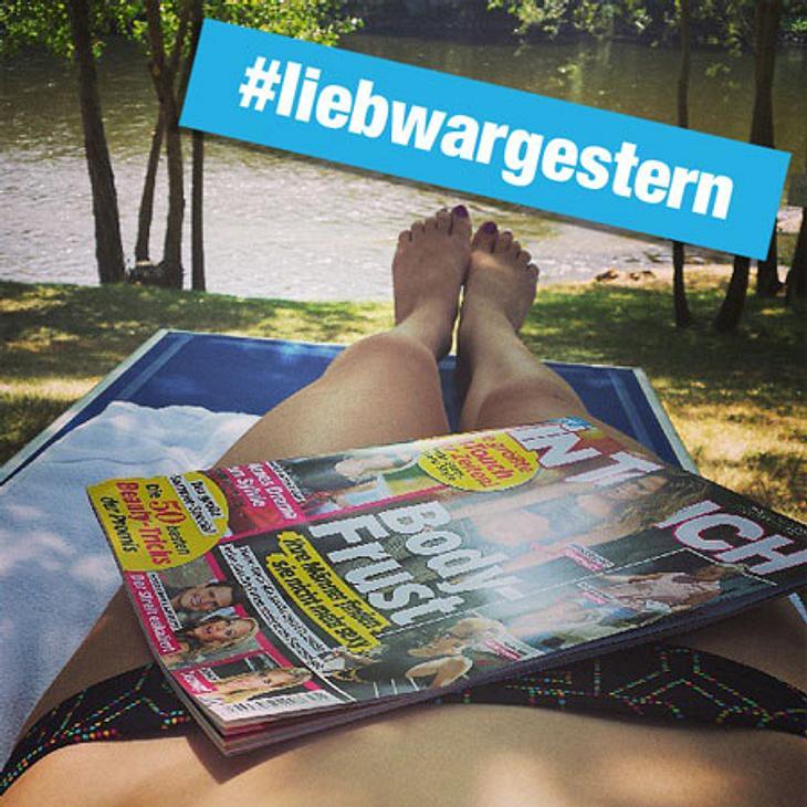 #liebwargestern - Wo lest Ihr Eure InTouch?