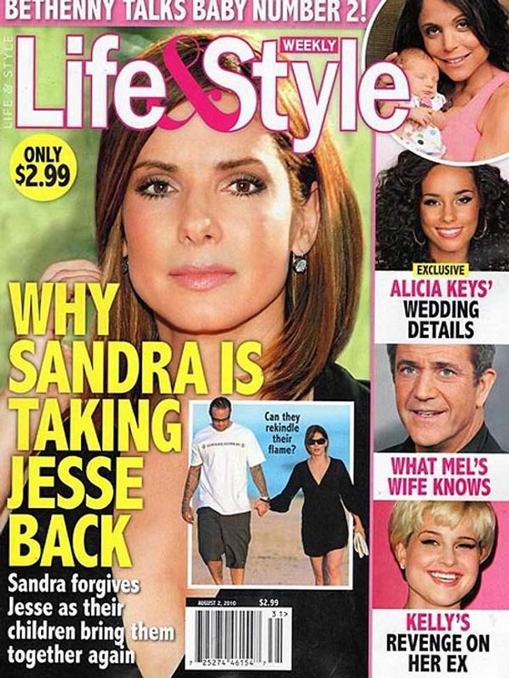 Sandra Bullock: Sie soll angeblich zu Jesse James zurückkehren