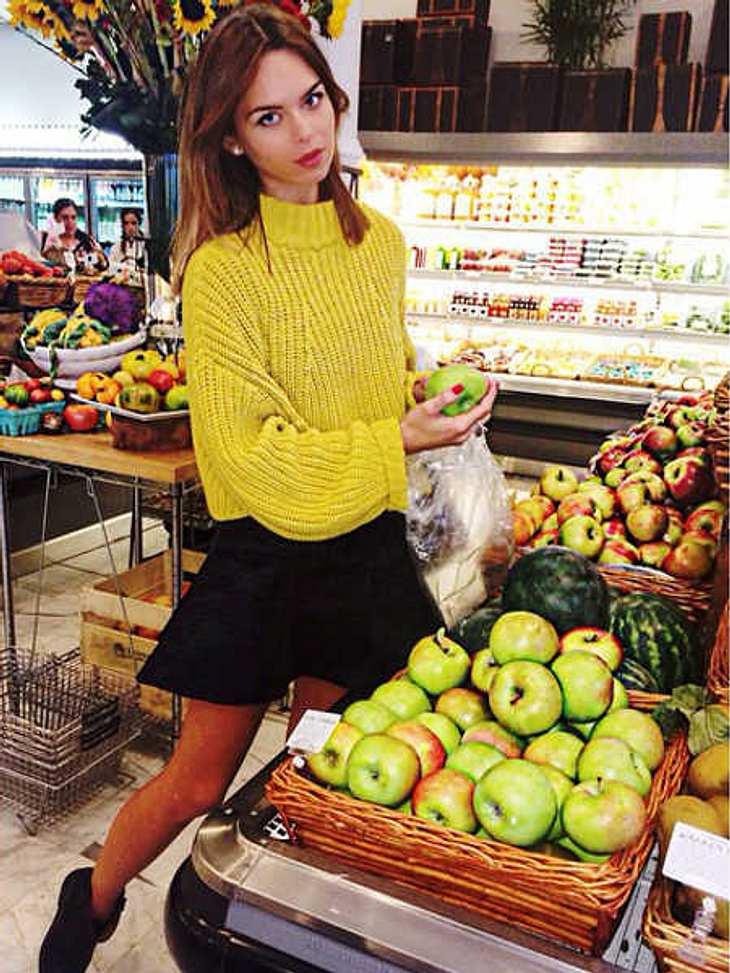 Liliana Matthäus ernährt sich gesund.
