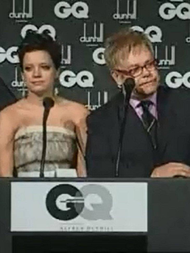 Elton John und Lilly Allen