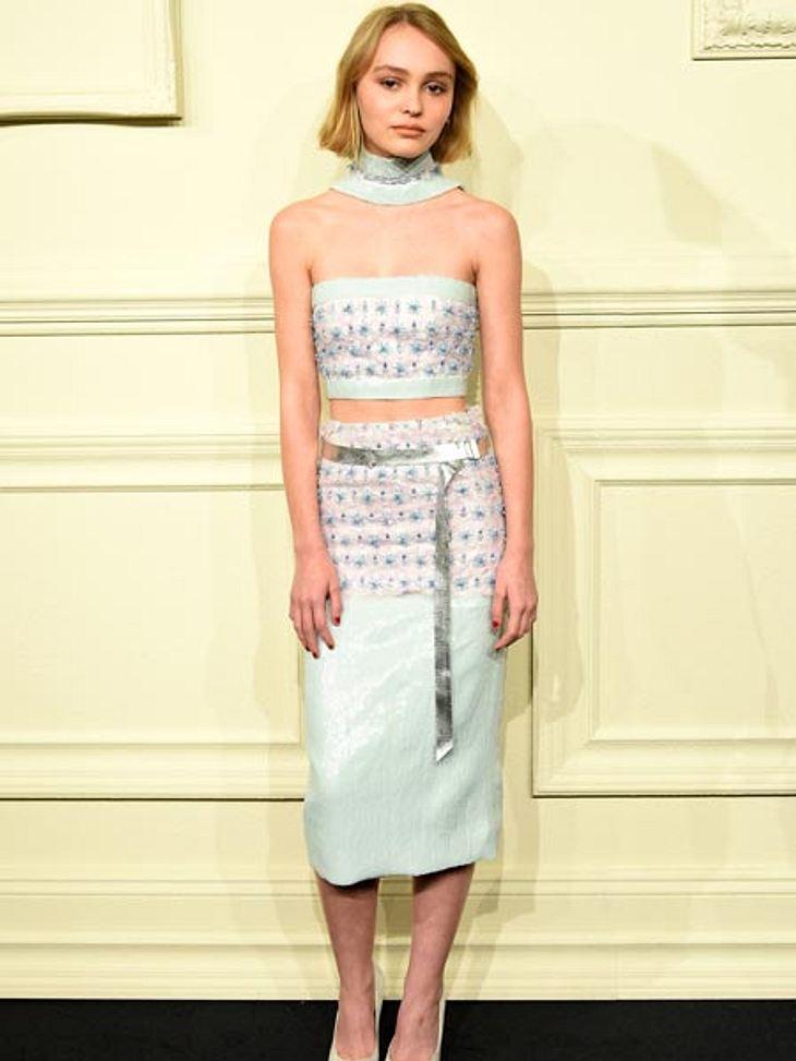 Lily-Rose Depp auf der Chanel-Show