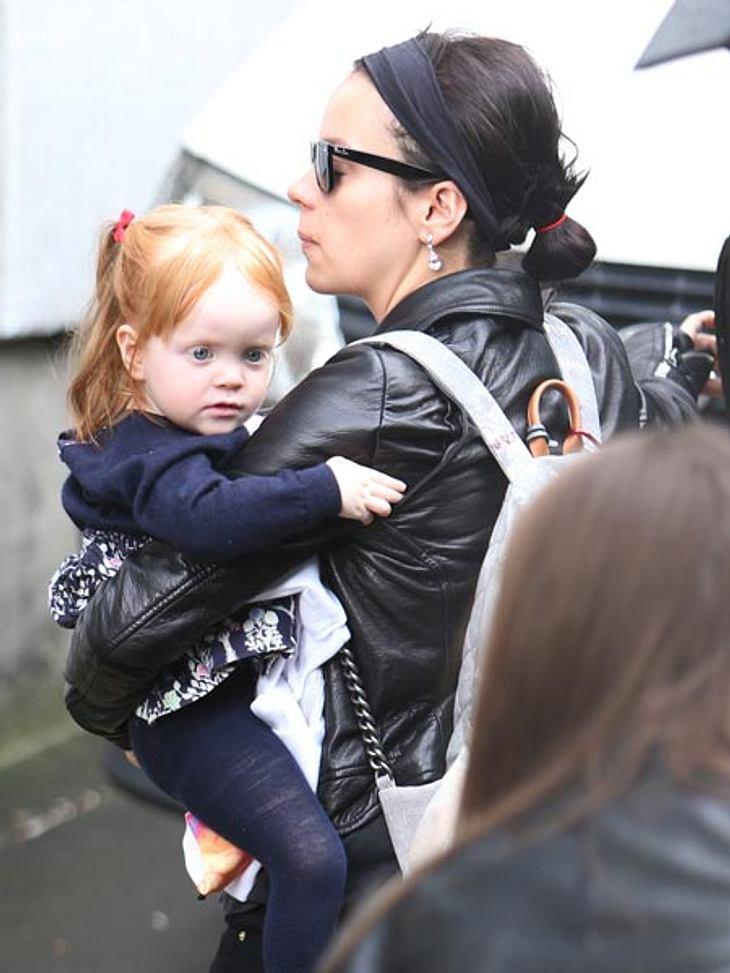 Lily Allen mit ihrer Tochter Ethel
