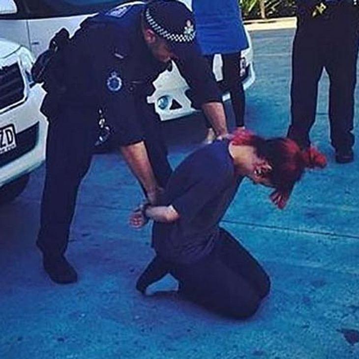 Lily Allen wird verhaftet