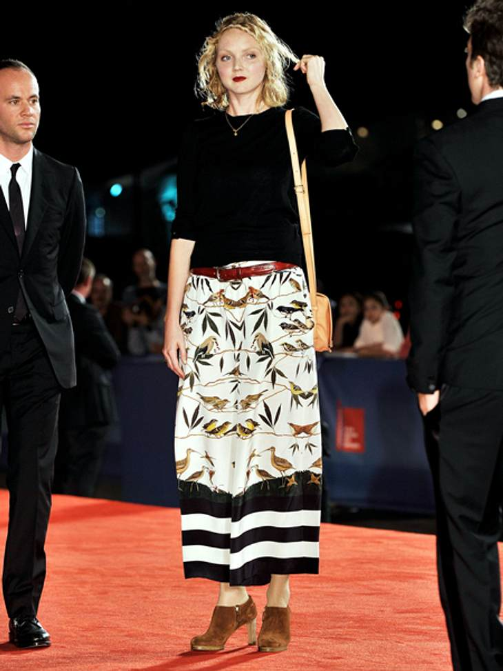 """Die 69. Internationalen Filmfestspiele von VenedigLily Cole (24) zählt laut der französischen """"Vogue"""" zu den 30 Top-Models der 2000er. Mittlerweile hat sie auch im Filmgeschäft Fuß gefasst. Nach Venedig kam sie, um für den Film &q"""