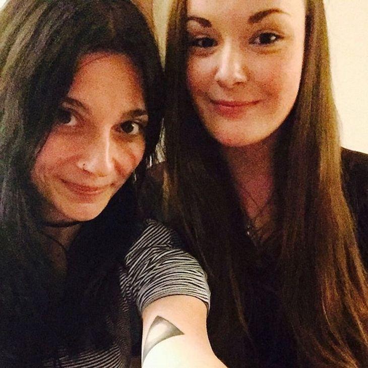 GZSZ-Linda Marlen Runge: Süßes Schwestern-Selfie