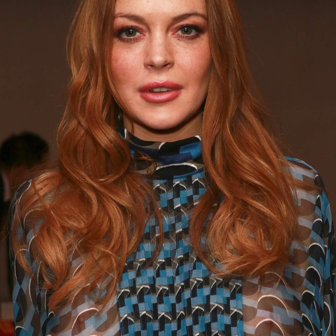 Lindsay Lohan zeigt sich freizügig