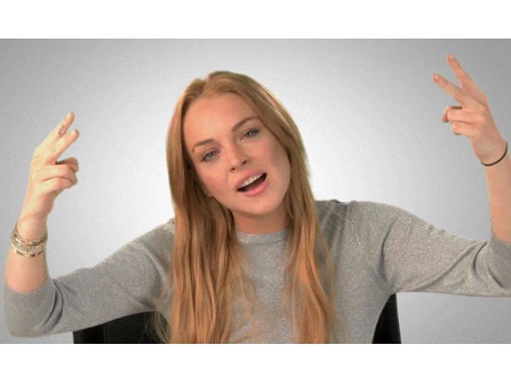 Lindsay Lohan: Hauptsache peinlich!Für ein Promotion-Video machte sich Lindsay Lohan freiwillig zum Trottel. Muss auch mal sein!