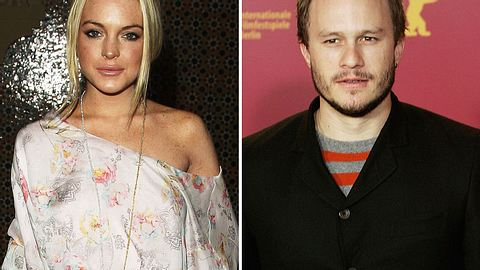 Kurz vor seinem Tod soll Heath Ledger Lindsay Lohan gedatet haben - Foto: GettyImages