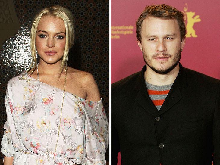 Kurz vor seinem Tod soll Heath Ledger Lindsay Lohan gedatet haben