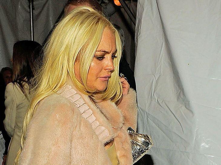 Lindsay Lohan ist am Ende - fragt sich nur, wann sie selbst das endlich begreift...