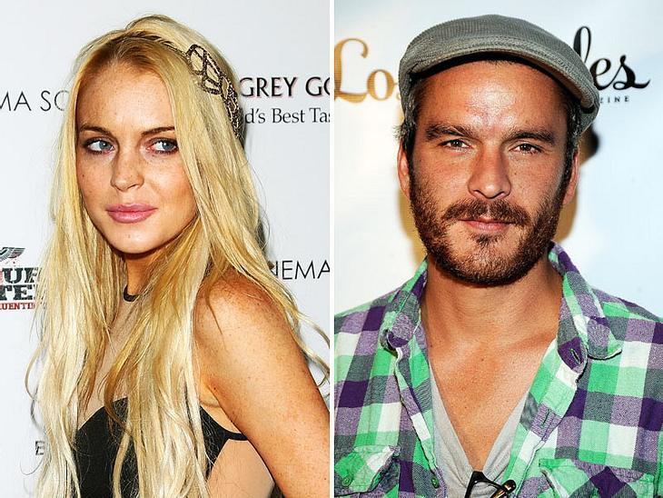 Überraschungs-Flirt: Lindsay Lohan soll mit Sienna Millers Ex Balthazar Getty angebandelt haben!