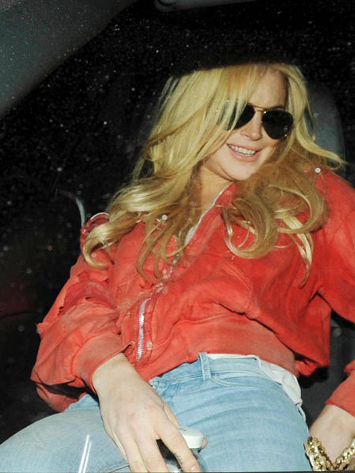 Lindsay Lohan: Hauptsache peinlich!Ein bisschen prollig posen - auch das kann Lindsay Lohan ziemlich gut.