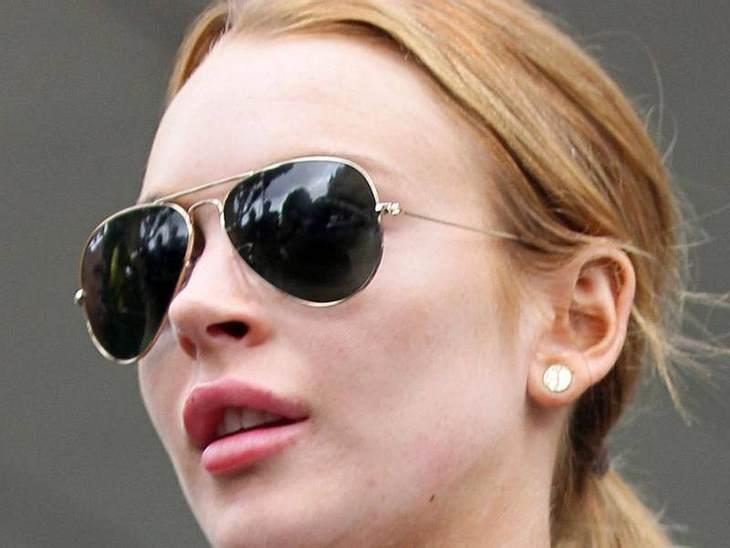 """Lippen aufspritzen: Star-Schnuten vom Schönheits-DocKaum war  Lindsay Lohan aus der  """"Betty Ford Clinic"""" raus, hat sie sich ihre Lippen neu aufpolstern lassen. Wenn man wieder in der Öffentlichkeit steht, muss eine Lindsay ja auch"""