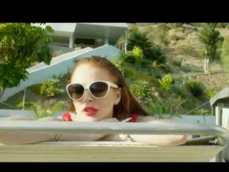 "Lindsay Lohan in einer Szene aus ""The Canyons""."