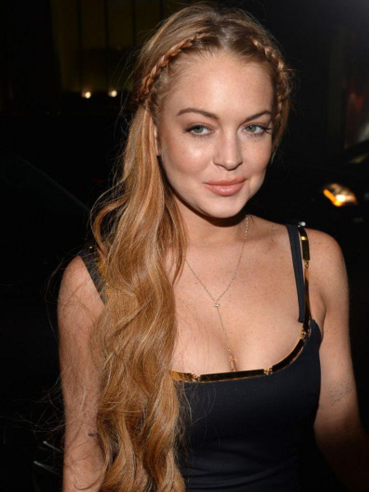 Lindsay Lohan besuchte kurz vor ihrem Entzug eine Bar.